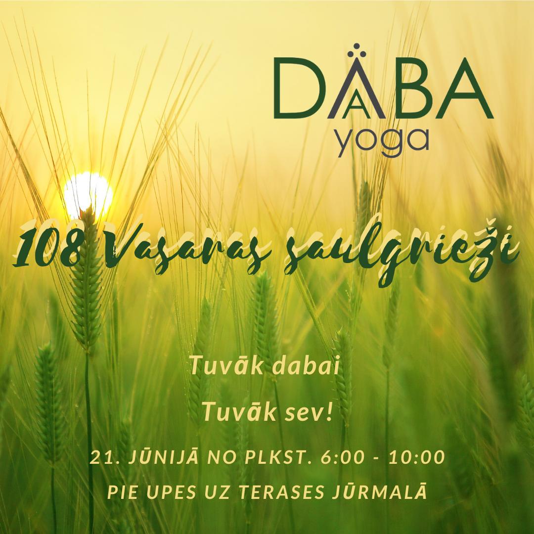 108 VASARAS SAULGRIEŽI